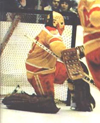 A star with both the Toronto Maple Laffs & Philadelphia Flyers, Bernie Parent backstopped the Philadelphia Blazers' inaugural season