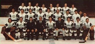 New England Whalers - 72-73